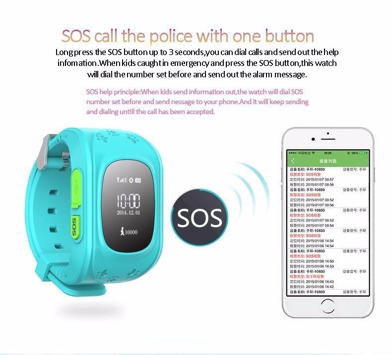 gps kid tracker smart wristwatch instructions