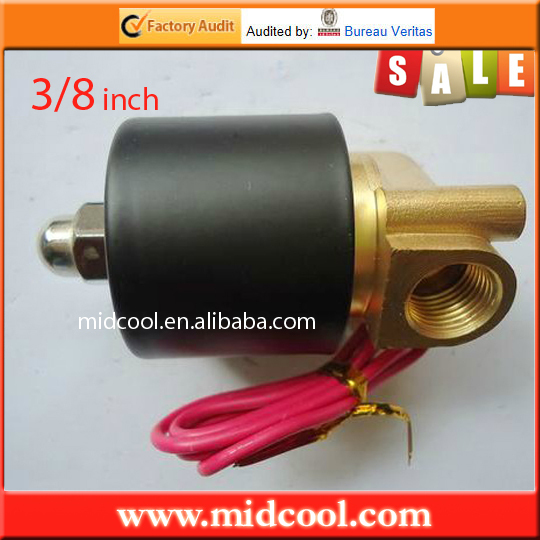 3/8'' Electric Solenoid Valve 12 Volt, Water, Diesel normally closed model 2W040-10(China (Mainland))