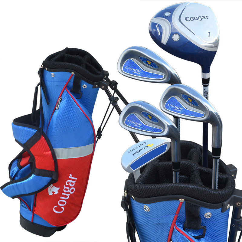 Boy and Girl Golf Clubs Complete Set With Bag Full Set Golf Clubs Complete Golf Sets For Children Free Shipping(China (Mainland))