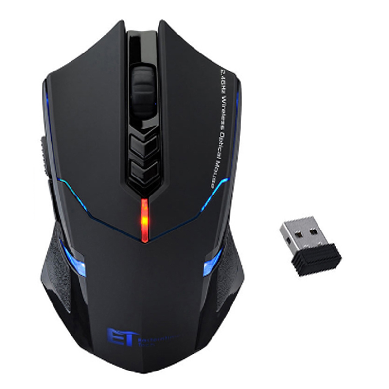 2000DPI 7 buttons scroll wheel CPI Adjustable 2.4G USB 2.0 Wireless Mouse Professional Gaming Mouse For Windows Linux Mac(China (Mainland))