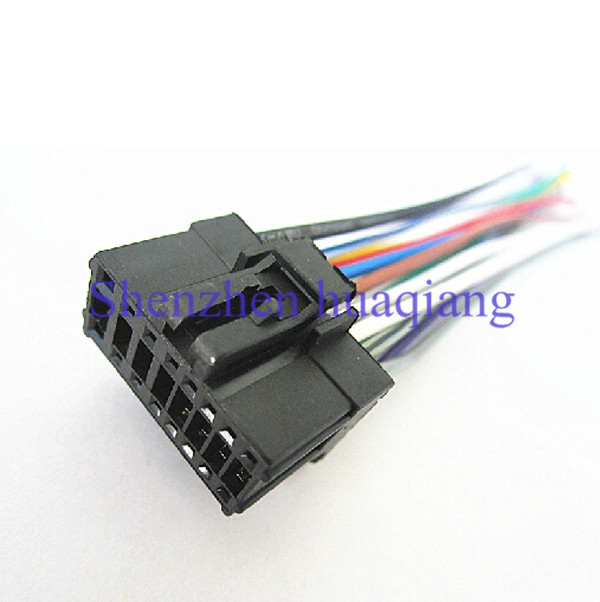 aliexpress buy car iso harness radio wire adapter wiring connector power cable for pioneer