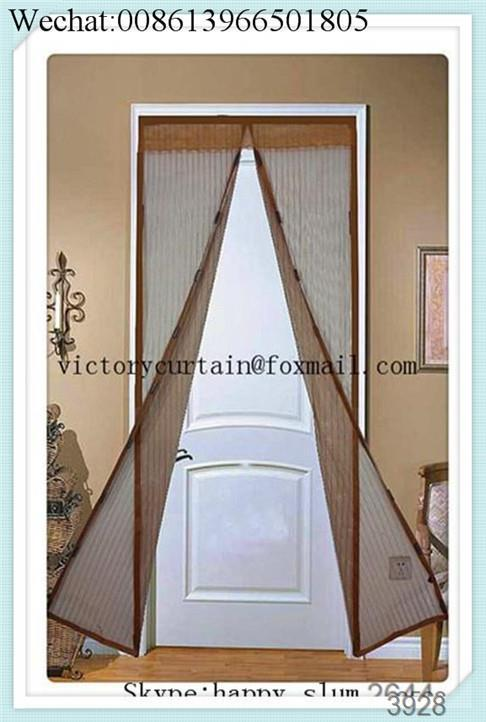 2016 New Magnetic Door Mosquito Net Screen Door Curtains With 18 Strong Magnets Closing Automatically . & Door Mosquito Screen \u0026 ... Single-door-screen-2 ...\
