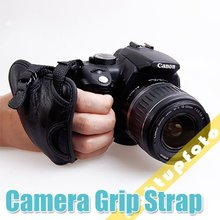 Pro Camera accessories Genuine Leather Hand Grip Wrist Strap for DSLR Camera Photo Studio Accessories