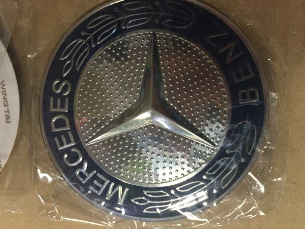Emblema mercedes pictures for Mercedes benz wheel cap emblem