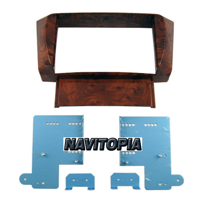 173*98MM Car Radio Fascia for Lexus LS430 2DIN Stereo Face Plate Frame Panel Dash Mount Kit Adapter Trim Bezel Facia