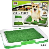 1sets/lot Pet Puppy Dog Train Device Grass Patch Toilet Free Shipping Wholesale  As Seen On TV Only $26.99