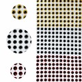 500 pieces 5mm 3D Holographic Fishing Eyes For Fly Tying Jigs Craft Dolls 3 Colors