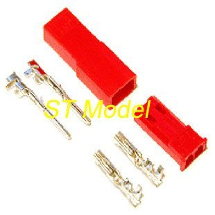ST Model JST plug with Pin for RC helicopter Plane lipo battery connector free shipping fee accept Paypal 2014(Hong Kong)