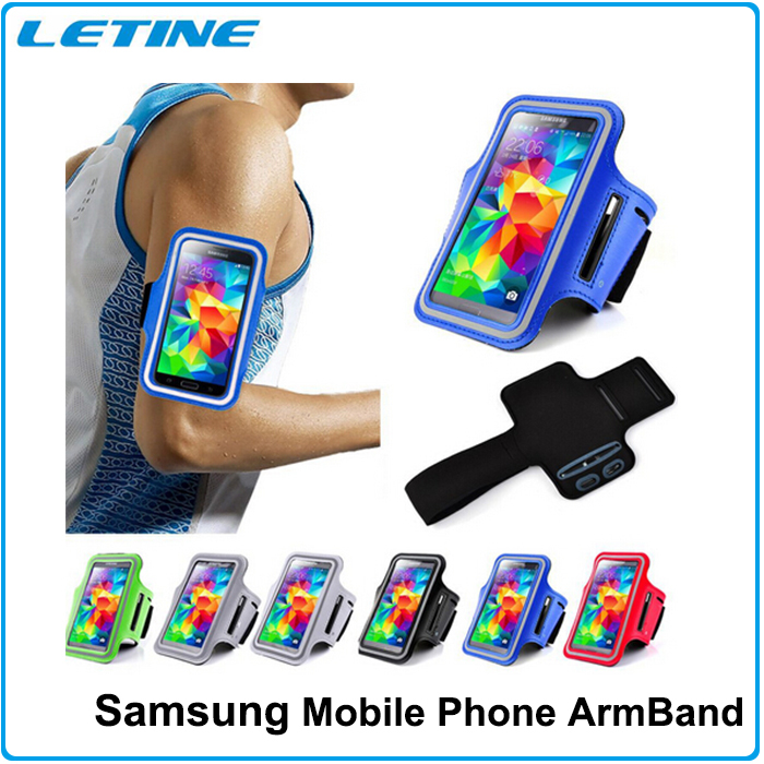 2016 New Brassard Sport Bags Cases For Samsung Galaxy S5 Case Nylon Running Gym Sports Armband Case for Samsung Galaxy S4 S3