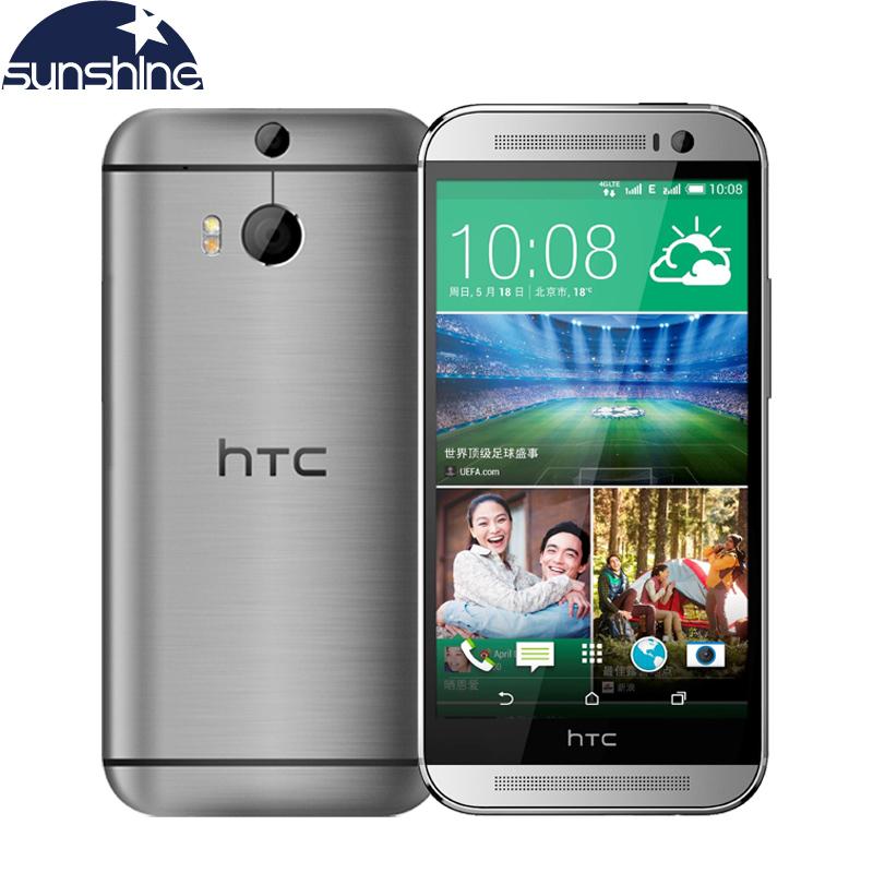 "Original HTC One M8 Mobile Phone 5"" Qualcomm Quad core Smartphone 2G RAM 16GB ROM Refurbished Phones 3 Cameras WCDMA Cell Phone(China (Mainland))"