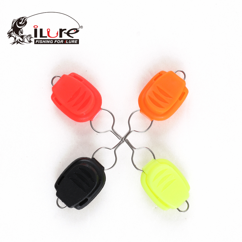 (5pcs/lot) iLure ABS Material Baitcasting Reel Line Stopper Drum Reel Line Control Check line Stop Wire Holder