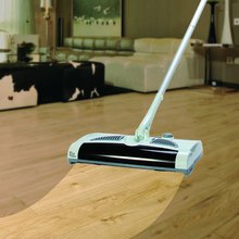Practical Sweeping Machine W-S018 2 in 1 Swivel Cordless Electric Robot Cleaner Drag Sweeping All-in-one Machine Automatic Mop(China (Mainland))
