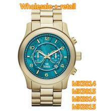 Moda relojes nuevos MK5814 MK5815 MK8314 MK8315 + caja original + wholesale y retail + free