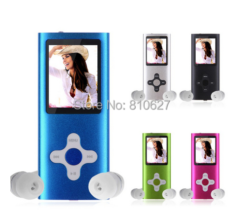 8GB Slim Mp3 Mp4 Player 1.8 inch LCD Screen FM Radio, Video, Games & Movie - Online Store servmenu store