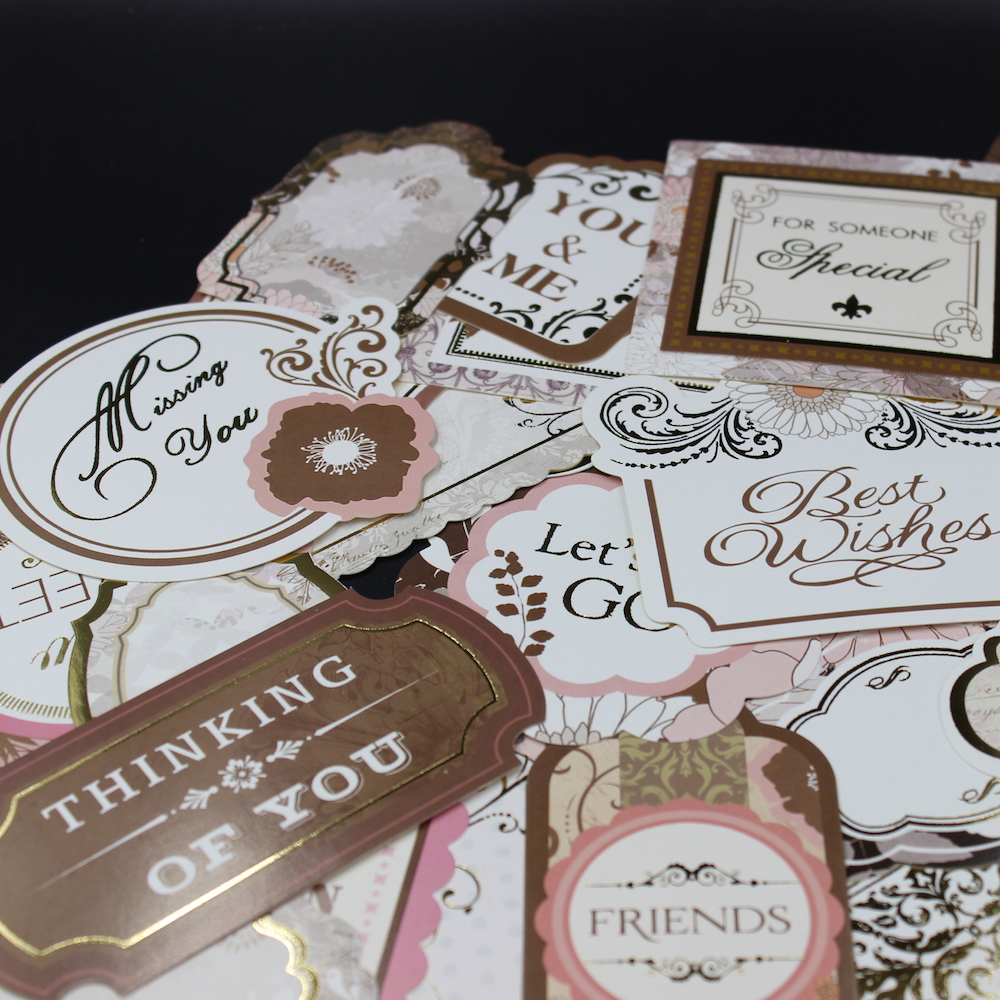 25pcs Vintage Memories Cardstock Die Cuts for Scrapbooking/Card Making/Journaling Project DIY 003(China (Mainland))