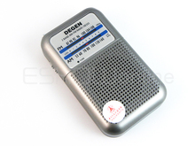 New DEGEN DE333 FM AM Radio Receiver Mini Handle Portable Two Bands radio A0796A