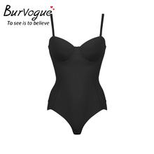 Burvogue 2016 Hot Firm Women Body Shaper with Bustier Crop Top Seamless Shapewear Waist Control Slimming Underwear Women Dress(China (Mainland))
