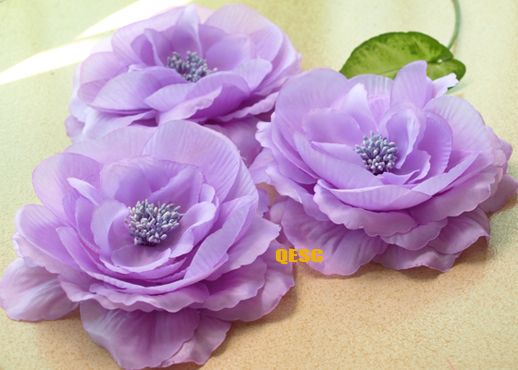 FREE SHIPPING. 16cm SOFT silk flower for millinery/sinamay hat/church hat/fascinator,with brooch pin hair clip,8 colours(China (Mainland))