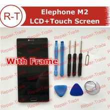 Buy Elephone M2 LCD Screen Frame 1920X1080 lcd display+Touch Panel Replacement 5.5inch Elephone M2 cellphone Free for $37.04 in AliExpress store