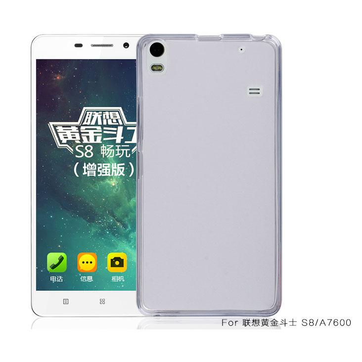 Здесь можно купить  100pcs/lot.TPU Gel Skin soft silicone Case cover for Lenovo S8(A7600),free shipping by DHL  Телефоны и Телекоммуникации