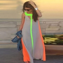Buy Vessos 2017 New Summer Womens Ladies Boho Sexy Dresses Celeb Beach Evening Party Long Maxi Sundress Dress Floor-Length Dress Ves for $8.65 in AliExpress store
