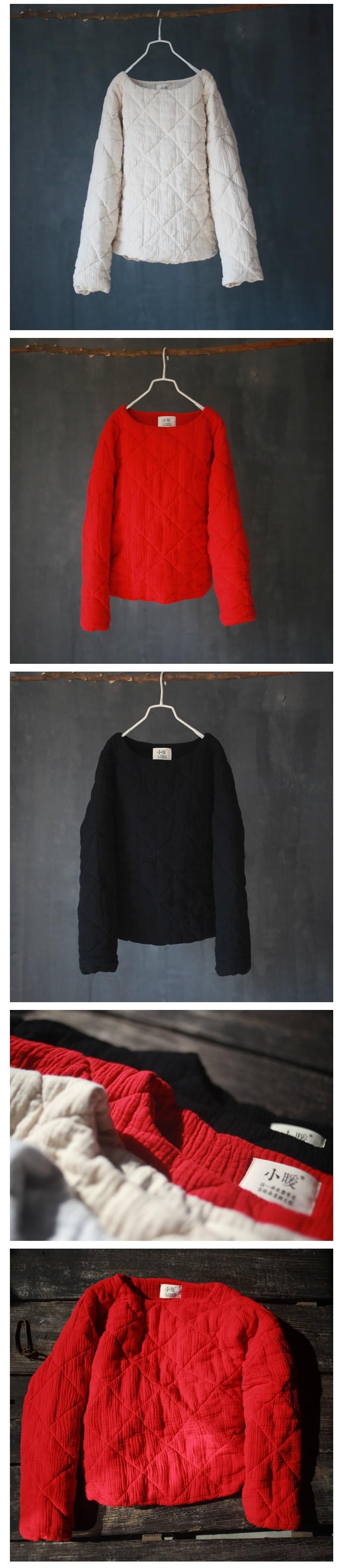 Скидки на Зимой 2016 года выпуска продукции, качество бренда оригинальный дизайн свободно большие ярдов женщин хлопка
