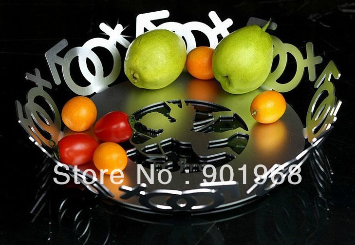 Home Decor Kitchen Cupid Arrow Love Stainless Steel Fruit