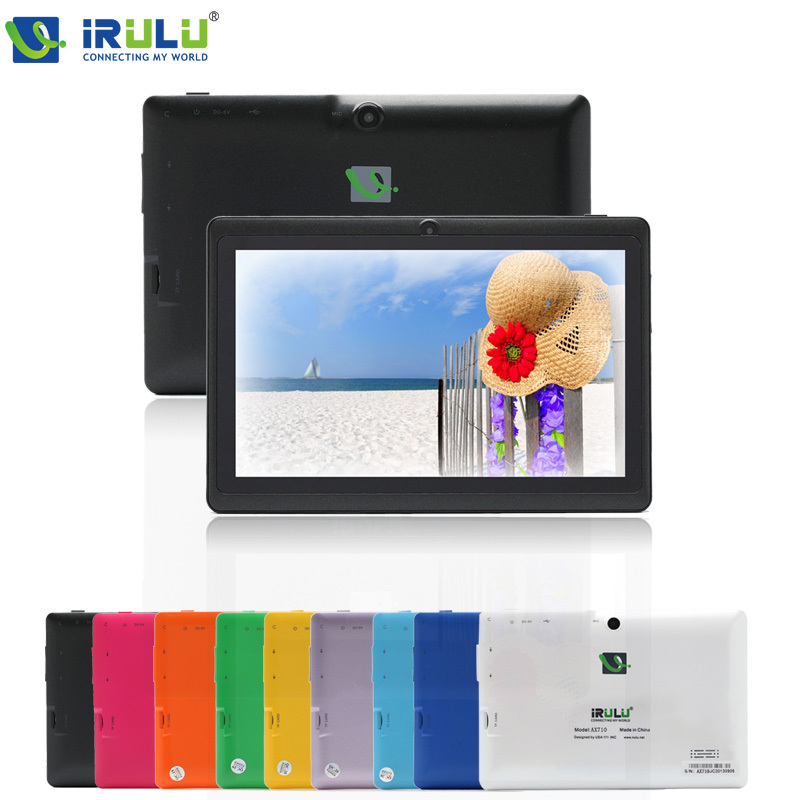 """iRULU eXpro 7"""" Tablet PC Quad Core Android 4.4 1.5GHz 8GB ROM Dual Camera USB 3G WIFI Multi-colors Free Ship New Hot 9 10.1(China (Mainland))"""