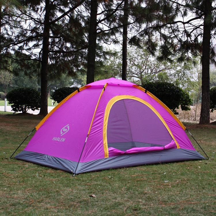 Здесь можно купить  Outdoor camping tent beach folding camping tent single tier glass fiber rod tent  Спорт и развлечения