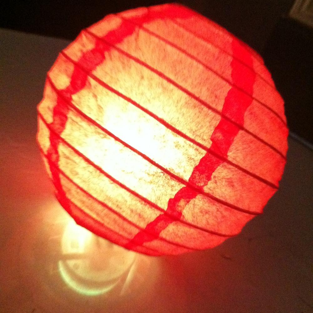 2016 High quality Chinese paper lanterns 10pcs/lot LED lighting paper Lanterns Party decorations Lanterns with LED lights(China (Mainland))
