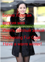 2016 S - 6XL Women Winter Hooded Fake Fur Coats Plus Size 5XL 4XL Vintage Artificial Black Faux Fox Fur Coat With Hood Big Size(China (Mainland))