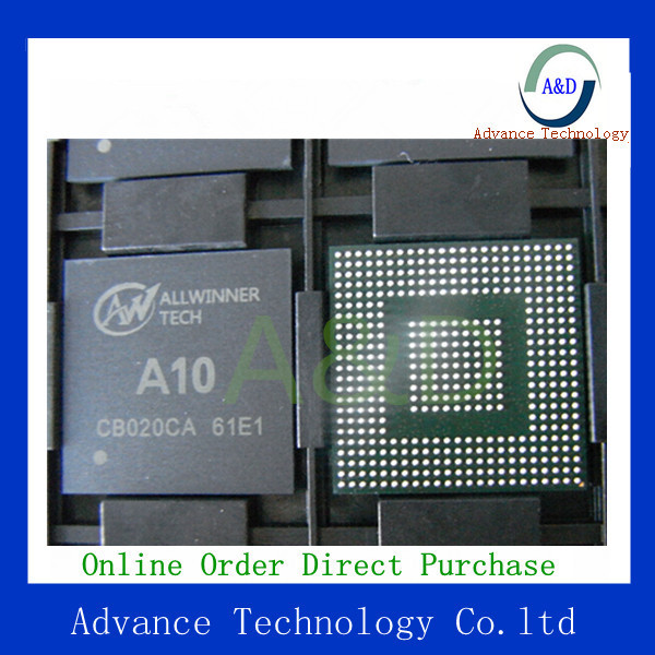 Free shipping 100% new and original allwinner A10 BGA IC for tablet PC(China (Mainland))