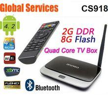 MK888 (K-R42/CS918)/ Android TV Box/ RK3188 Quad Core CPU/ 2G DDR3 8G Flash/ RJ-45 USB WiFi XBMC Smart TV HDMI/ Android 4.2