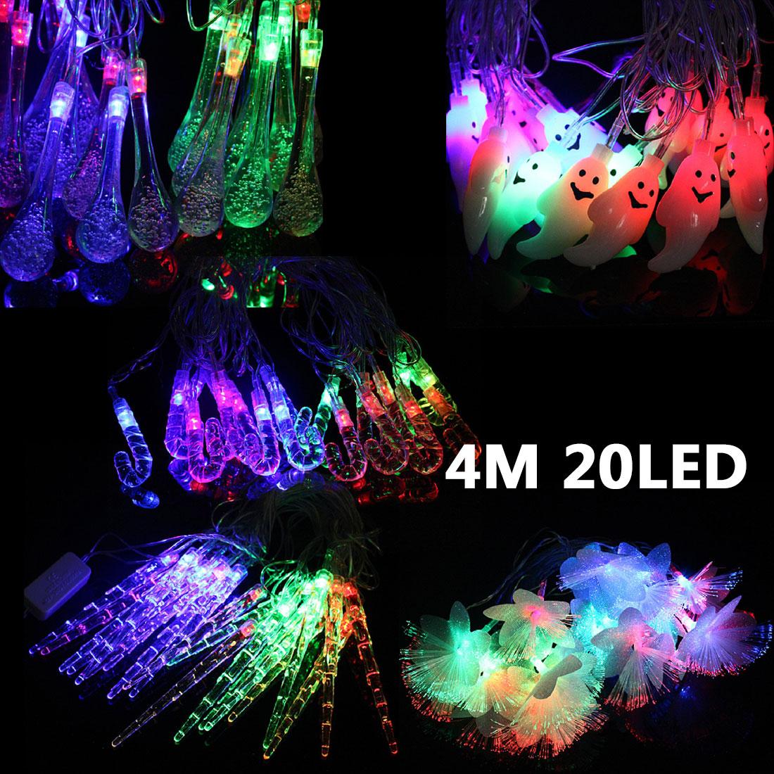 Nice 4M 20 Led String Fairy Lights Christmas Festival Decoration Multi-Color Rgb Decoration 110V/220V Rainproof(China (Mainland))