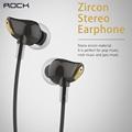 Headphones For Mobile Phone Rock Zircon 3 5mm Luxury Stereo Earphone Headset In Ear Handsfree Earbuds