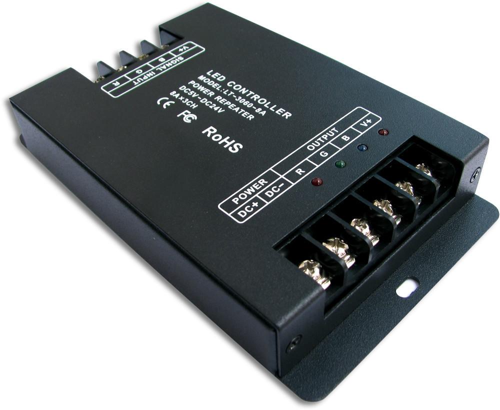 LT-3060-8A;LED CV Power Repeate;DC5-24V input;8A*3CH output<br><br>Aliexpress