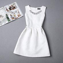 vestidos summer dress 2015 sleeveless Printing Vintage patchwork Print Flare vestidos desigual women summer casual dress (China (Mainland))