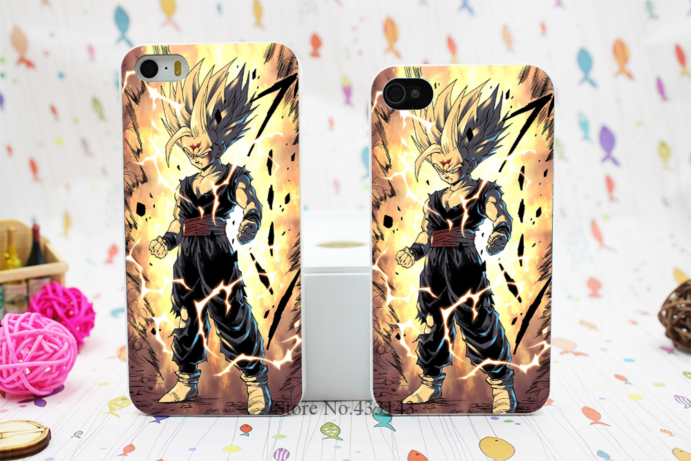 Japanese Cartoons Anime Series Dragon Ball Z Durable Style Hard White Skin Case Cover iPhone 5 5s 5g - Shenzhen ZhuoYou Technology Co.,LTD store