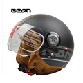 Luxury fashion design vintage BEON capacete motorcycle helmet made authorization of Holland men women motor bike