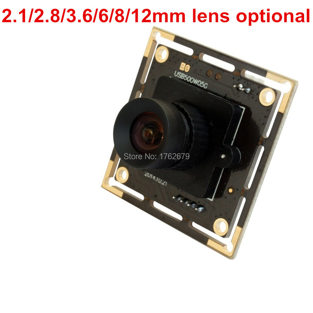 5Megapixel 2592(H) X 1944(V) HD Aptina MI5100 CMOS high frame 30fps at 1080P usb cmos camera module with 3.6mm lens<br><br>Aliexpress