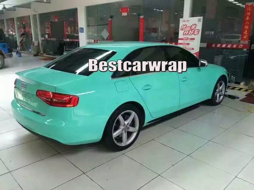 super gloss high glossy vinyl car wrapping film with 3 Layers vehicle wraps (22)