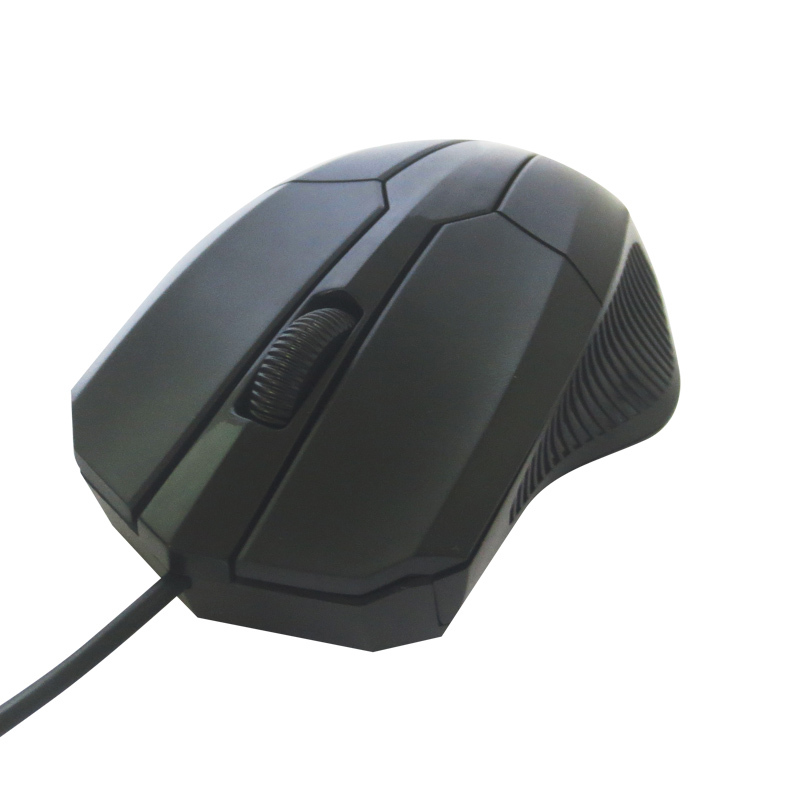 Black Cheap Drivers Usb Wired Optical Mouse(China (Mainland))
