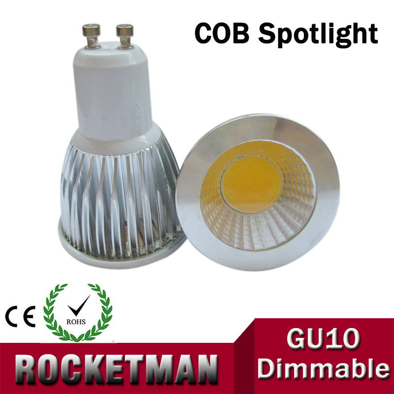 GU10 12W 9W 6W Dimmable COB LED Sport light lamp led bulb warm cold white AC85-265v ZK90(China (Mainland))