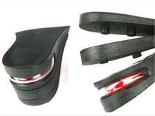 3 Layer Men & Women 6 cm(2.5″) Increase Height Half Insole, Ergonomic Design Taller Shoe Pad W06