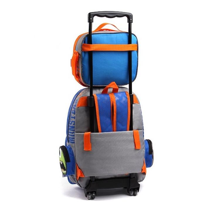 Boy Rolling Backpack | Frog Backpack