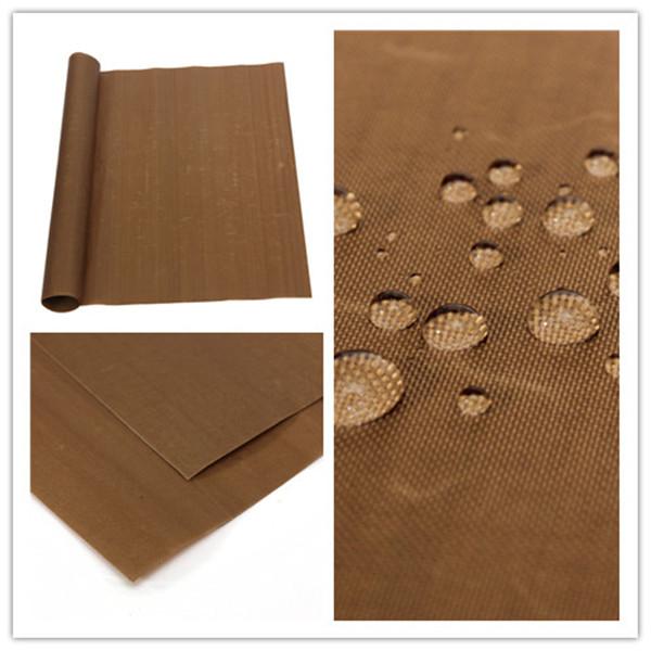 High quality 60*40CM High Tempreture Resistant Cloth Baking Mat BBQ Sheet Anti-oil Fabric Baking Linoleum Reuse Oil Paper(China (Mainland))