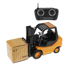 Mini RC Toy Forklift Fork Lift Radio Remote Control Truck Car Children's Toys(China (Mainland))