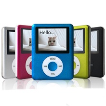 Sport Oem MP4 Player 10 Languages FM Radio 1.8 inch MP3 MP4 Lcd Movie Music Player Txt Record 5 Colors Reproductor MP4 Earphones