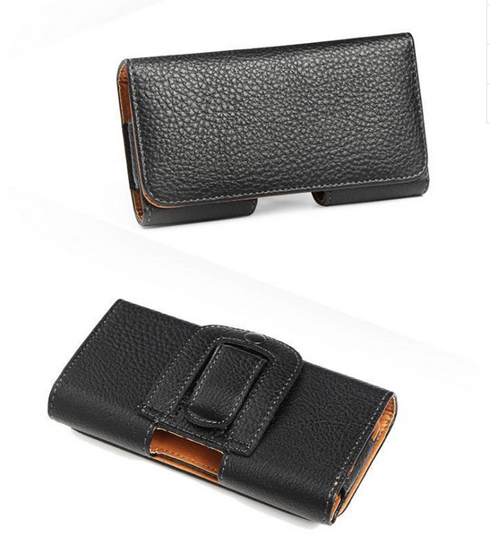 Leather Pouch Holster Belt Magnectic Clip Case Holder For N7115 MTK6515 5.3 inch,High Quality,Free Shipping(China (Mainland))