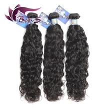 Buy Unprocessed 7A grade high Brazilian virgin hair hair extension water wave virgin hair weft human hair weave bundles for $82.62 in AliExpress store